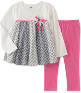 Kids Headquarters 2-Pc. Geo-Print Tunic and Leggings Set, Baby Girls (0-24 months)