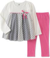 Kids Headquarters 2-Pc. Geo-Print Tunic & Leggings Set, Baby Girls (0-24 months)