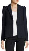 Rebecca Taylor Slub Suiting Jacket, Navy
