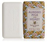 Crabtree & Evelyn Triple Milled Soap, Almond Milk and Honey