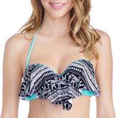 Arizona Pattern Flounce Swimsuit Top-Juniors