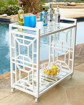 Horchow Tamsin Chinoiserie Bar Cart