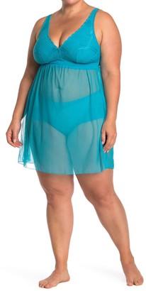 Cosabella Minoa Babydoll Slip Dress