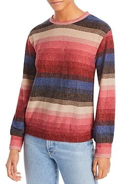 Aqua Striped Long Sleeve Top - 100% Exclusive