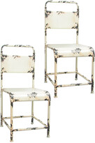 Pangea Samson Set Of Two Dining Chairs