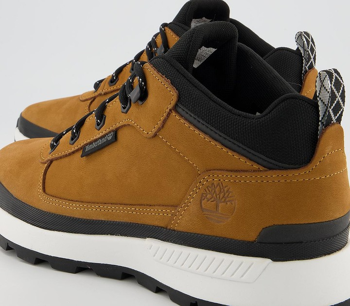 Thumbnail for your product : Timberland Field Trekker Low Hiker Boots Wheat Nubuck