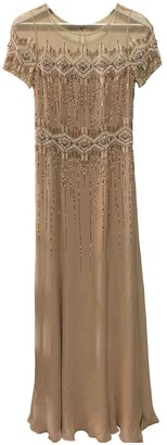 Jenny Packham Pink Silk Dresses