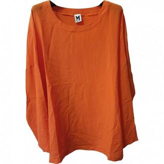 M Missoni Orange Silk Top for Women