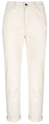 Mint Velvet Dakota Ecru Boyfriend Jeans