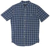 Obey Ashbury Plaid Print Short Sleeve Shirt
