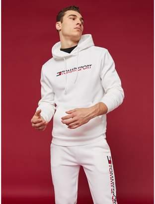 Tommy Hilfiger Stretch Fleece Logo Hoodie