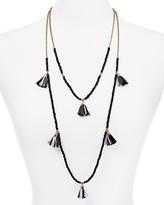 "Aqua Kaitlyn Tassel Necklace, 22"" - 100% Exclusive"