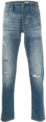 G Star Low Rise Slim-Fit Jeans