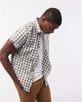 Express checkered short sleeve shirt
