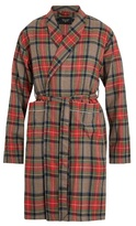 Fear Of God Checked Wool Robe
