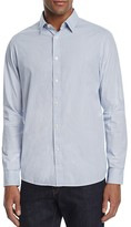 Michael Kors Honeycomb Regular Fit Button-Down Shirt