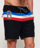 Superdry Waterpolo Stripe Swim Shorts