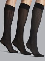 Anne Klein Three Pack Trouser Socks