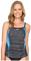 Speedo Texture Double Strap Tankini Top