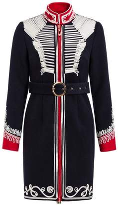 Couture Comino London The Commander Navy Military Dress