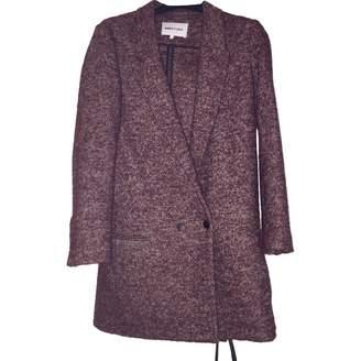 N. Bimba Y Lola \N Burgundy Wool Coat for Women