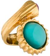 Saint Laurent Snail Ring
