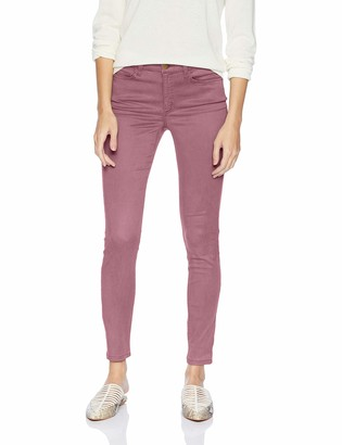 Daily Ritual Amazon Brand Women's Stretch Sateen Skinny-Fit Pant
