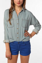 Breezy Chambray Button-Down Shirt