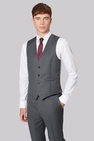 French Connection Slim Fit Plain Grey Waistcoat
