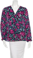 Joie Silk Floral Print Blouse w/ Tags