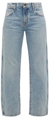 KHAITE Kerrie Loose-fit Jeans - Womens - Light Denim