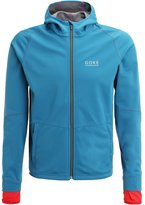 Gore Running Wear Essential Sports Jacket Ink Blue/red