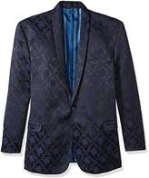 Stacy Adams Men's Big and Tall Scott Floral Sports Coat