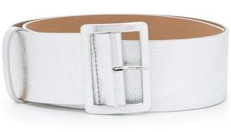 MSGM Chunky Leather Belt