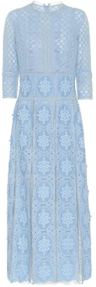 Costarellos Amelle lace midi dress
