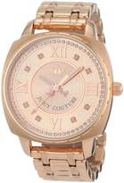 Juicy Couture Women's 1900807 Beau Rose- Plated Bracelet Watch