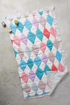 Anthropologie Diamant Toddler Quilt & Playmat