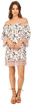 Brigitte Bailey Elissa Floral Off the Shoulder Dress