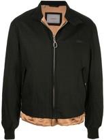 Lanvin layered bomber jacket