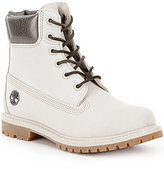 Timberland 6 Inch Premium Waterproof Leather Lace-Up Boots