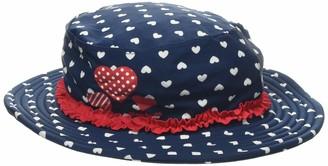Playshoes Girl's UV-Schutz Sonnenhut Herzchen Hat