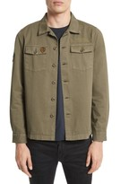 The Kooples Men's Double Pocket Shirt Jacket