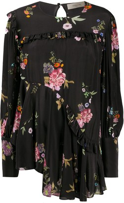 Preen Line Kapona haunted floral print blouse