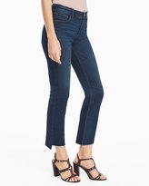 White House Black Market High-Rise Crop Flare Jeans