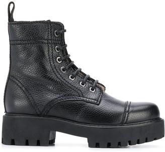 ALEXACHUNG Alexa Chung chunky sole ankle boots