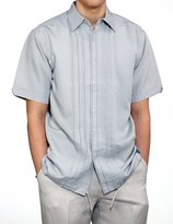 Cubavera Cuba Vera Men's Short Sleeve GUAYABERA Casual Vacation Summer Shirt