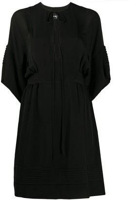 DSQUARED2 Plunge Neck Tunic Dress