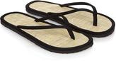 Accessorize Plain Seagrass Flip Flops