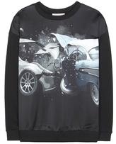 Christopher Kane Printed Cotton Sweatshirt