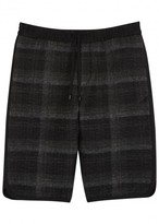 Public School Tryan Checked Flannel Shorts
